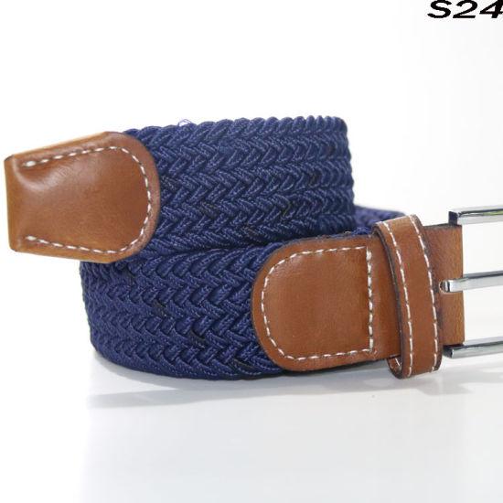 S24 Knitting Elastic Tape Webbing Braided Belt for Christmas Present