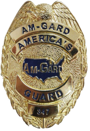 Free Sample! Eco-Friendly Metal Material Gold Plated Us Police Badge for Souvenir (248)