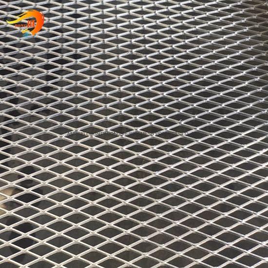 Decorative Aluminum / Galvanized / Stainless Steel OEM Expanded Metal Mesh Panels
