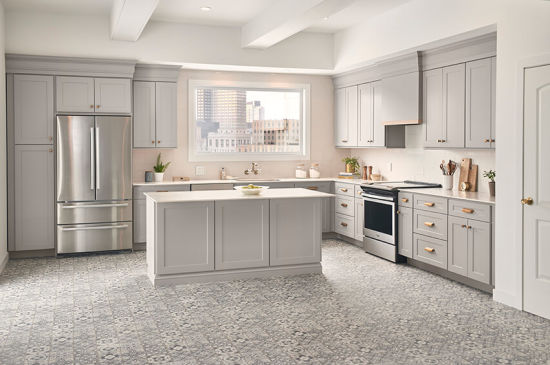Grey Kitchen Pantry Cabinet Gray Modern Modular Manufacture Supply China Kitchen Products Modern Kitchen Cabinet Made In China Com
