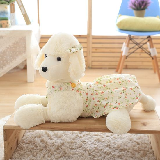 Plush Stuffed Animal Poodle Dog Toys Doll for Kids Gift pictures & photos