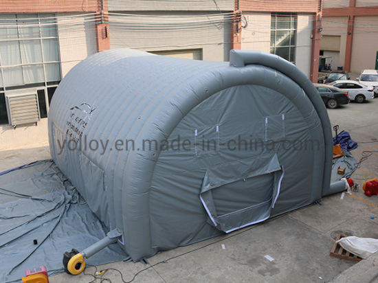 Inflatable Spray Booth Car Tent with a Floor
