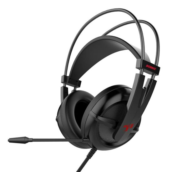 Somic G238 Black 3.5mm PS4 Gaming Headphone with Long Microphone Bifg Earmuff