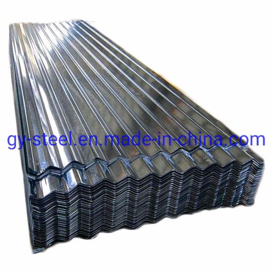Dx51d Z140 Iron Steel 24 Gauge Zinc Corrugated Galvanized Roofing Sheet Price