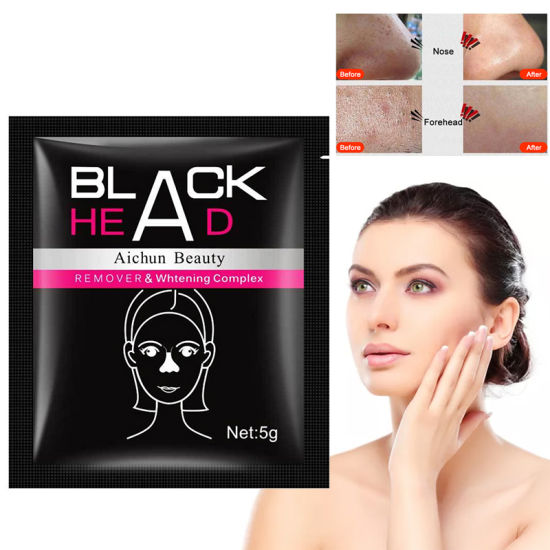 Black Face Mask Blackhead Remover Deep Exfoliating Peel off Mask Mud Lasting Moisturizing Nourish Whitening Masks Women