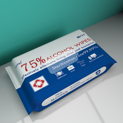 75% Alcohol Wet Wipes 40PCS Family Take Care