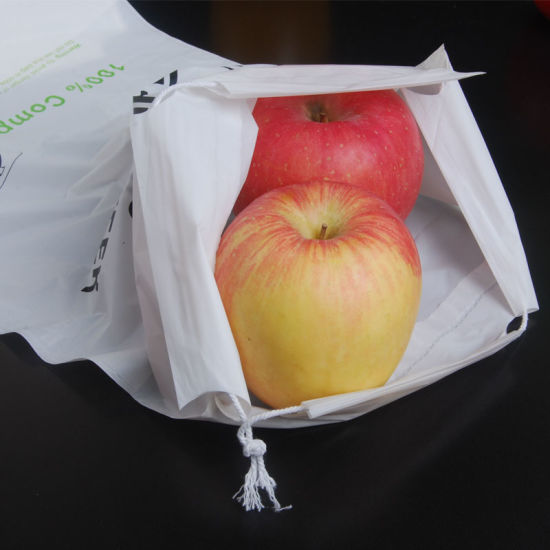 Wholesale 100% Biodegradable and Compostable Self Adhesive Biobags for Fruits