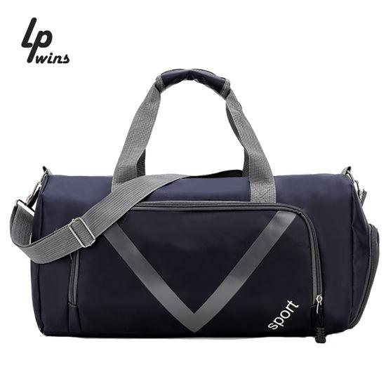 OEM Wholesale Space Capsule Sports Duffel Ladies Mens Travel Bags