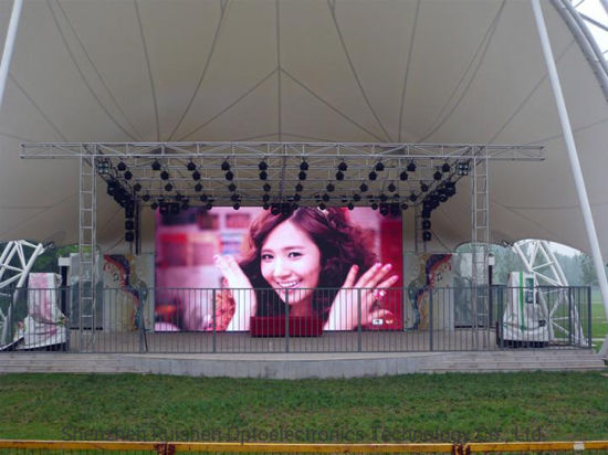 P3.9 Flexible Module Flat / Curved LED Display Screen for Outdoor Stage Rental (P3.91, P4.81)