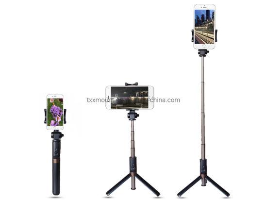 Monopod Foldable Tripod Rechargeable Bluetooth Selfie Stick
