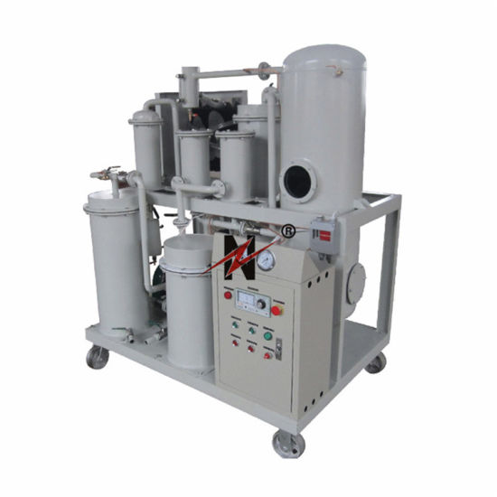 High Vacuum Stage Movealble Lubrication Oil Filtration Machine