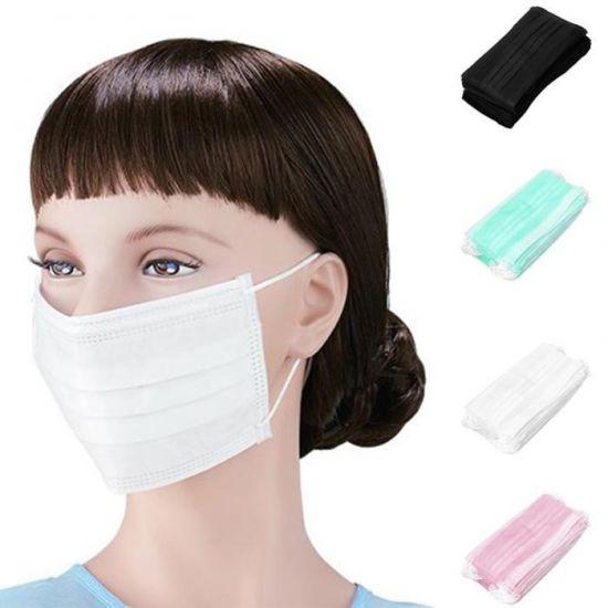 50pcs disposable masks surgical face earloop