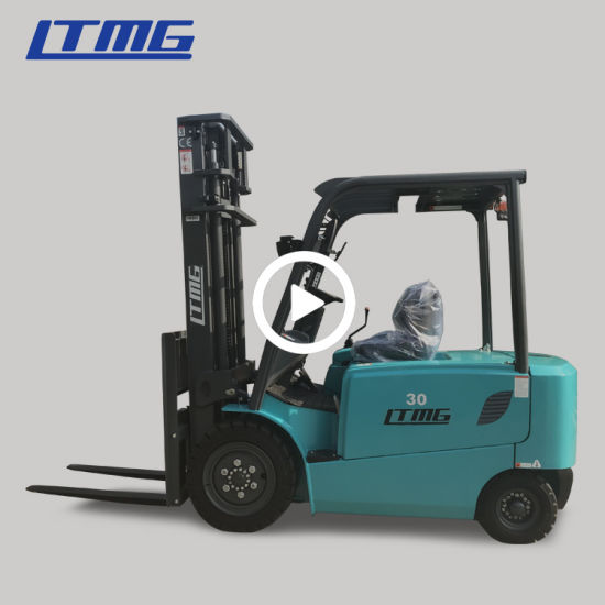 Top Supplier Ltmg 3 Ton Electric Forklift with Curtis Controller