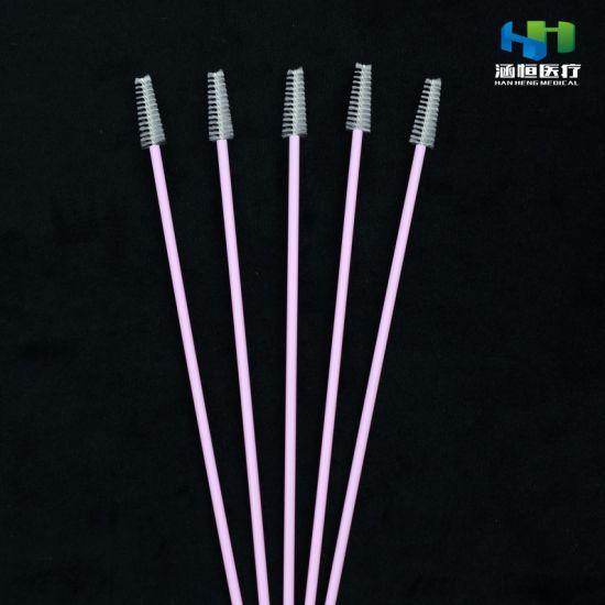 8101-a Disposable Sterile Sampling Brush Medical Cervical Brush Nylon Brush