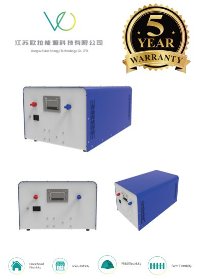 Deep Cycle Lithium Ion LiFePO4 Battery Pack for Power and Solar Storage