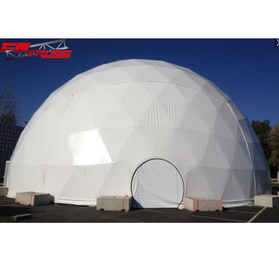 20m Steel Frame Geodesic Dome Tent for Outdoor Exhibitions pictures & photos