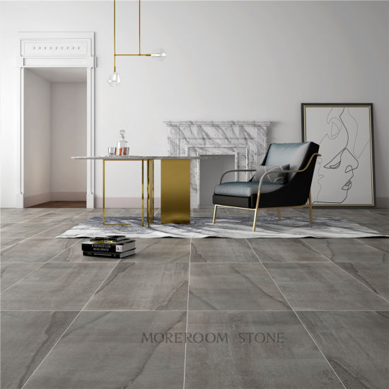 Matte Floor Tile Concrete Large Format Porcelain
