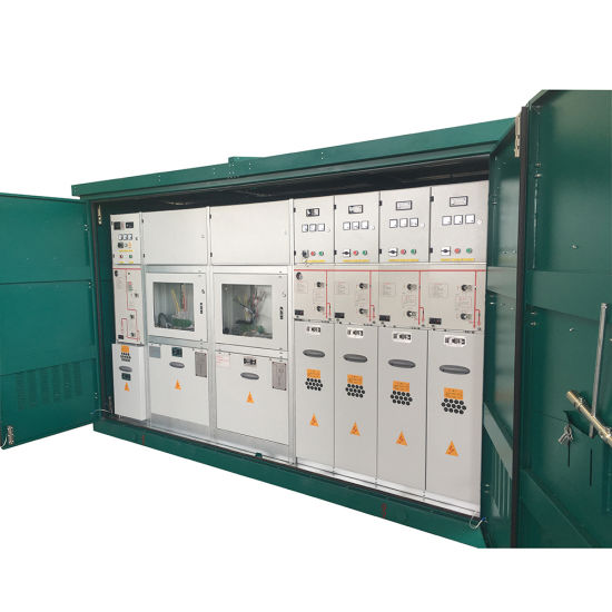12kV Medium Voltage Rmu With Gas Insulated Switchgear