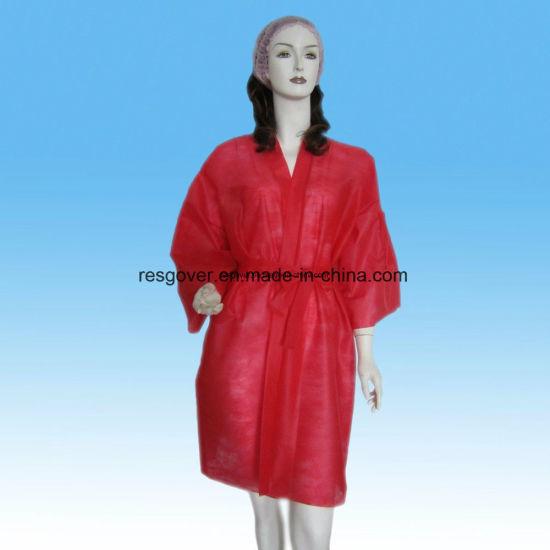 b3da67bc34 China PP Disposable Nonwoven Sauna Robe for Beauty Salon and SPA ...