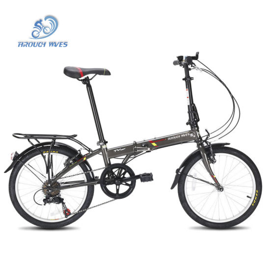 20 Inch Aluminum Alloy Folding Bike with RS35 7 Speed From Trinx Bicycle Factory