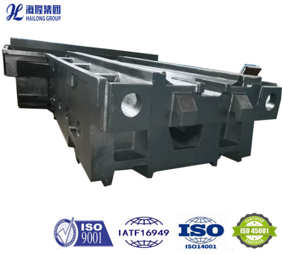 Factory Price Large Cast Gray Iron Casting Milling Grinding Machine Tool Frame Base Body Bed