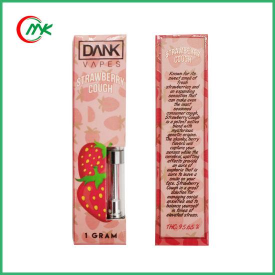 [Hot Item] New Thick Cbd Thc Oil Ikrusher Vape Cartridges Dank Vapes
