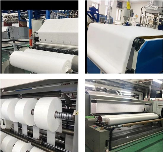 Medical China Supplier of PP Meltblown Nonwoven Fabric for Mask