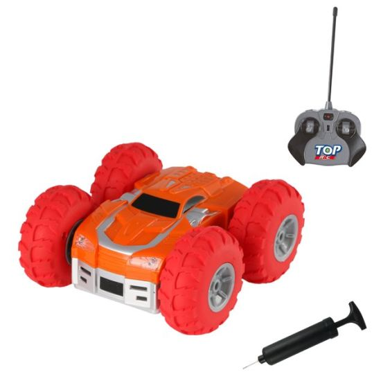China Mini Rc Car With Inflatable Wheel And Pump Included New Design