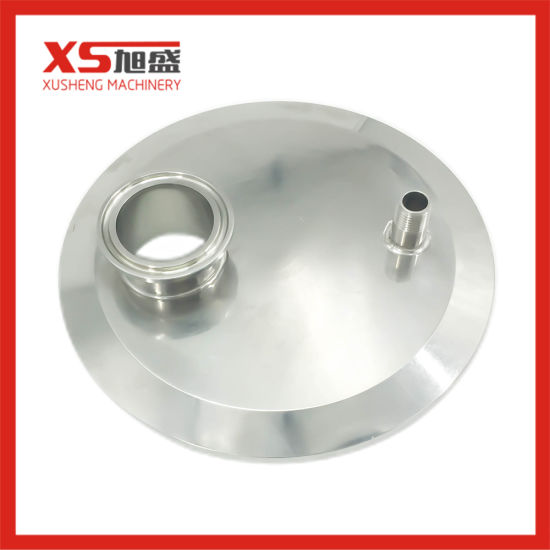 """2/"""" To 1.5/"""" Top Sanitary Ferrule Reducer Fitting SS304 To Tri Clamp Replacement"""