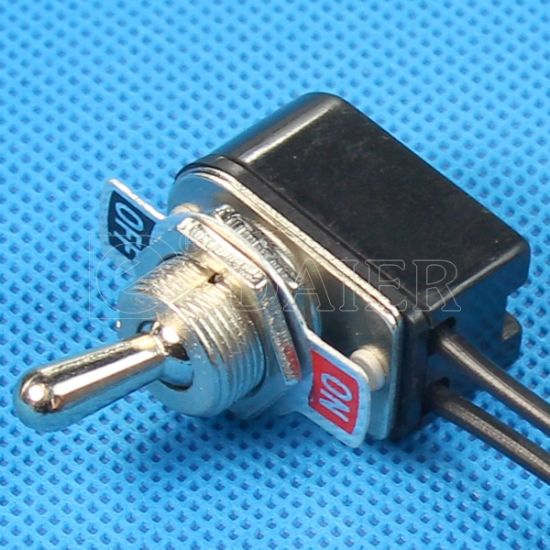 China On Off Electric Wiring Single Pole 12v Toggle Switch