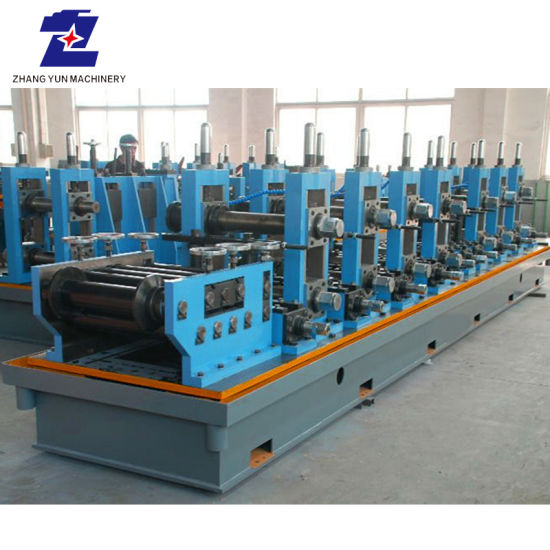 Rectangle Pipe Stainless Steel Pipe Making Production Line