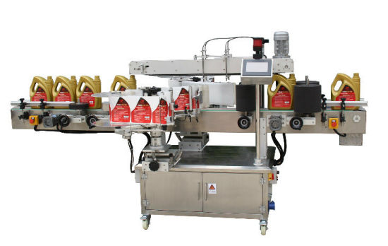 Automatic Round Bottle and Flat Bottle Sticker Labeling Machine for Beer Bottle Side Square Jar pictures & photos