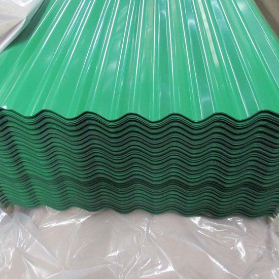 Color Zinc Corrugated Steel Roofing Sheet