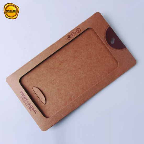 China Sinicline Custom Envelope Bags for iPhone X 9h Tempered Glass