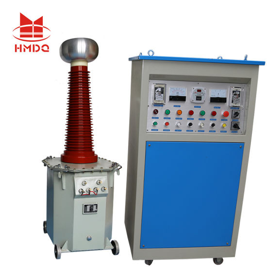 AC DC Oil Immersed High Voltage Hv Insulation Testing Transformer pictures & photos