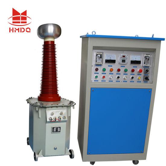 AC DC Oil Immersed High Voltage Hv Insulation Testing Transformer