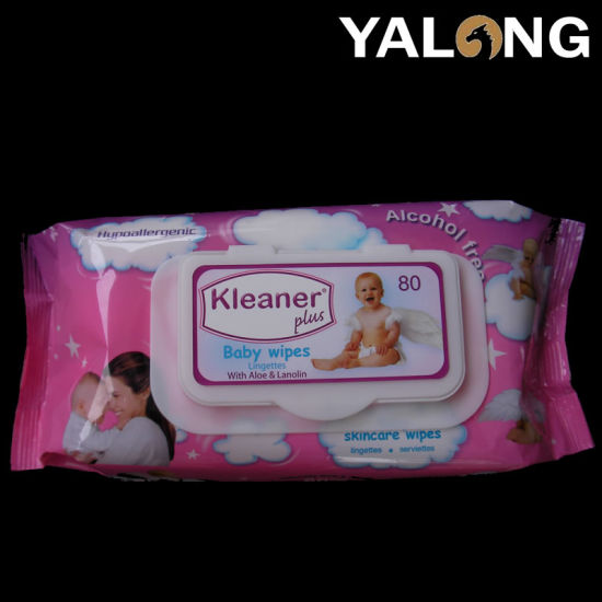 Alcohol Free Non Woven Cleaning Tender Baby Water Wipes China pictures & photos