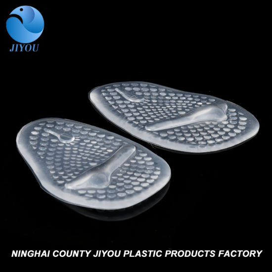 Anti-Slip Silicone Gel Forefoot Arch Support Shoe Pad/Self Adhesive PU Gel Shoe Insole