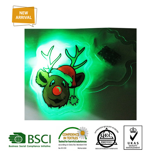 Kids Cute Mini TPU LED Light Sticker