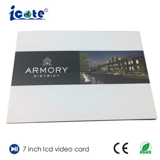 China Best Selling Products Video Greeting Card for Business