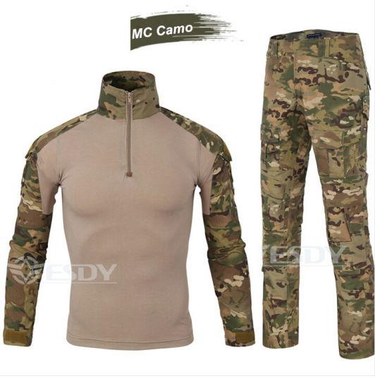 11-Colors Tactical Tight Outdoor Sports Uniform Camouflage Suit Military Uniform