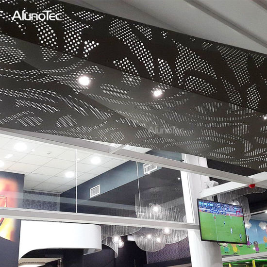 Perforated Aluminum Wire Mesh Universal Decorative Aluminum Mesh Grill for  Ceilings