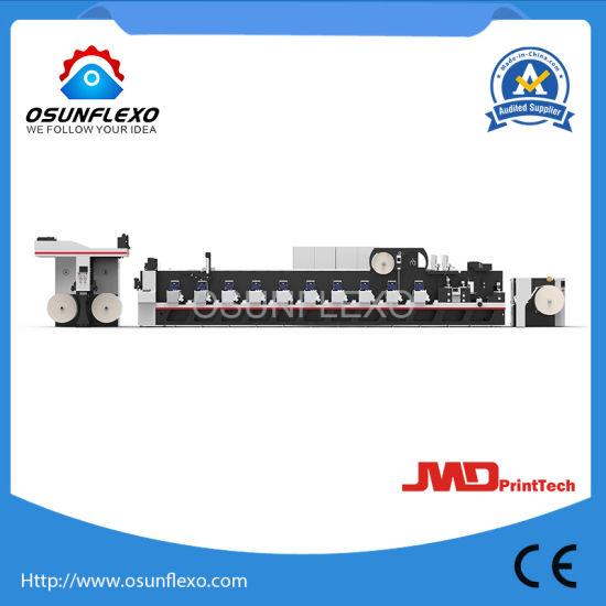 High Speed Multifunctional Combination Label and Film Flexo Printing Machine 200m/Min