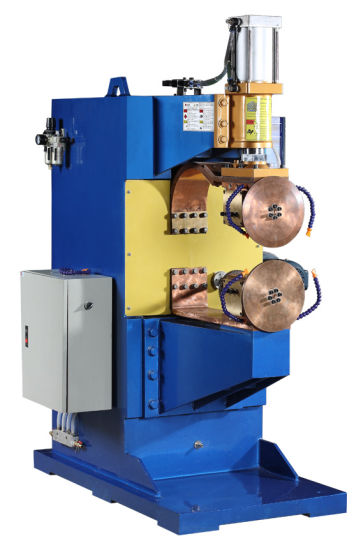 Semi Automatic Continuous Steel Sheet Rolling Seam Welder pictures & photos