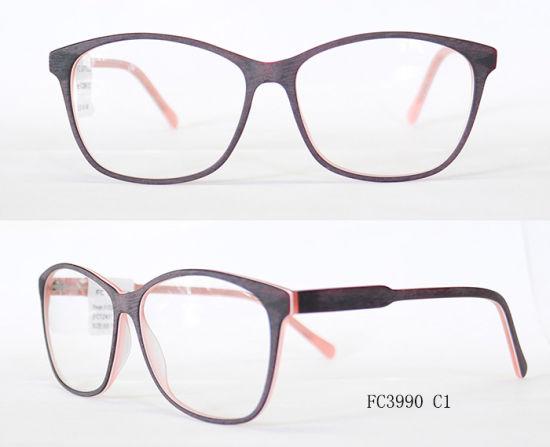 ac06c95012 China Women Acetate Eyeglasses Optical Frame - China Eyeglass Frame ...