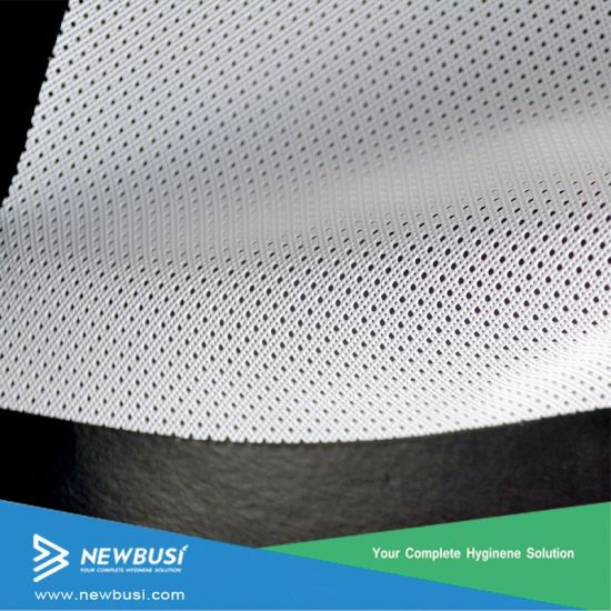 PE Perforated Film for Sanitary Napkin Topsheet From China