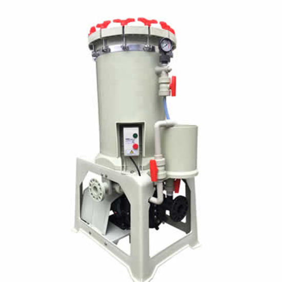 FRPP PVDF Polypropylene Chemical Filter for Electroplating