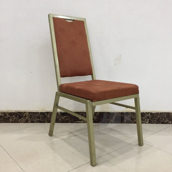 Stacking Iron Cheap Banquet Chair for Export