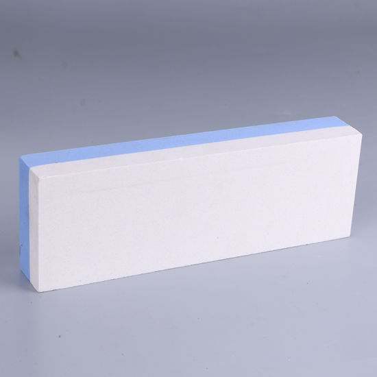 White/Blue 3000/6000 Grit Combination Natural Water Knife Sharpening Stone pictures & photos