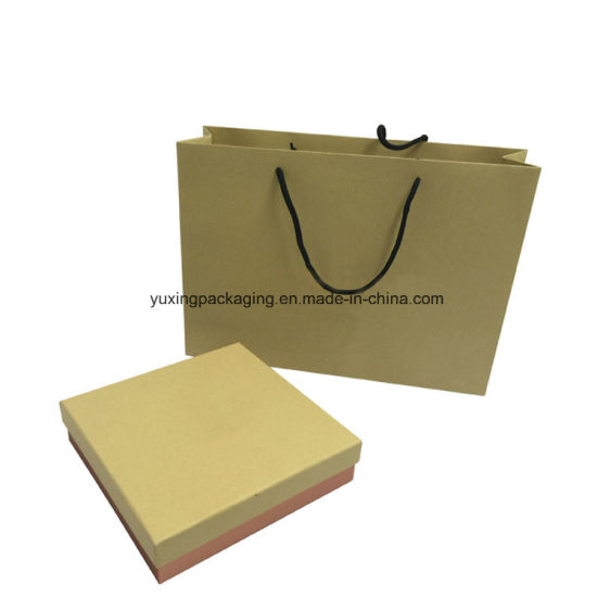 fashion Custom Luxury Kraft Paper Gift Shopping Bag Packaging Bag